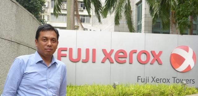 Irawan Prasetyo, Manajer Pemasaran Produksi Fuji Xerox Asia Pacific Pte. Ltd.